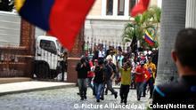 Krise in Venezuela Überfall auf Parlament