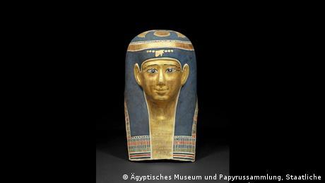 Mummy mask of Ta-Sherit-en-Hor. (Foto: Egyptian Museum and Papyrus Collection, Staatliche Museen zu Berlin, Margarete Büsing)