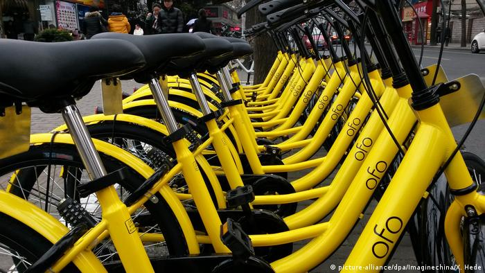 China Bike-sharing OFO (picture-alliance/dpa/Imaginechina/X. Hede)