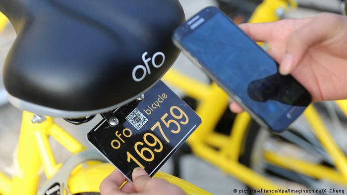 China Bike-sharing OFO