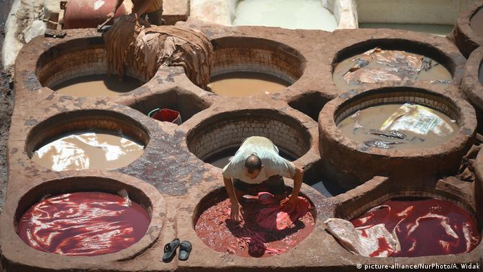 Marokko Chouara-Gerberei in Fes