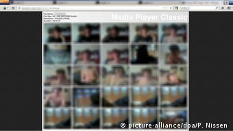 Symbolbild Kinderpornografie im Darknet