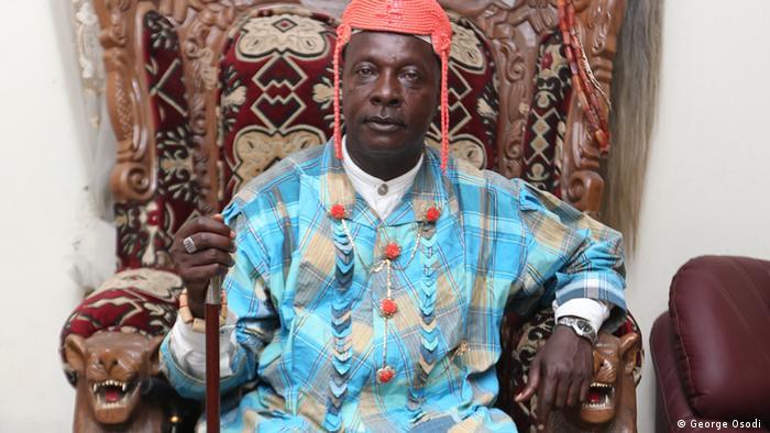 Nigeria, König Plaintiff