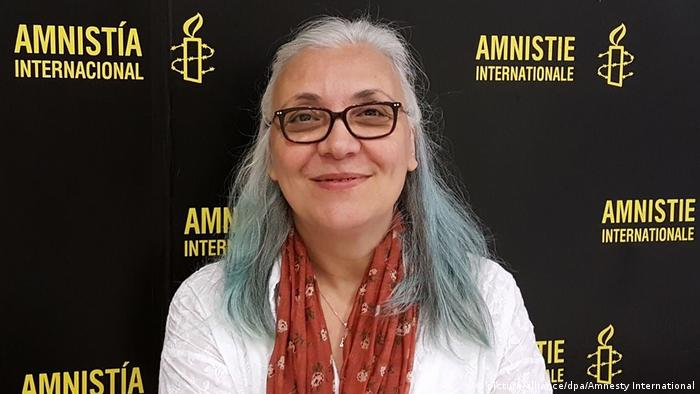 Idil Eser, the director of Amnesty International Turkey was among those arrested