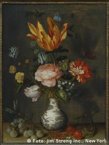 Бальтазар ван дер Аст. Цветы в вазе эпохи Ваньли. (1620-25)