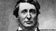 Henry David Thoreau Schriftsteller (Getty Images/Hulton Archive)