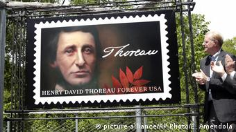 Henry David Thoreau Schriftsteller Briefmarke (picture-alliance/AP Photo/E. Amendola)