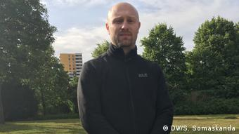 Roman Friedrich, from the Gewalt Prävention NRW group in North Rhine-Westphalia, Germany.