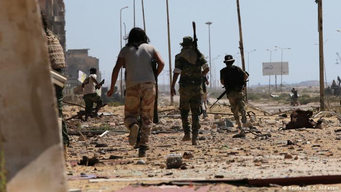Libyen Kampf um Bengasi