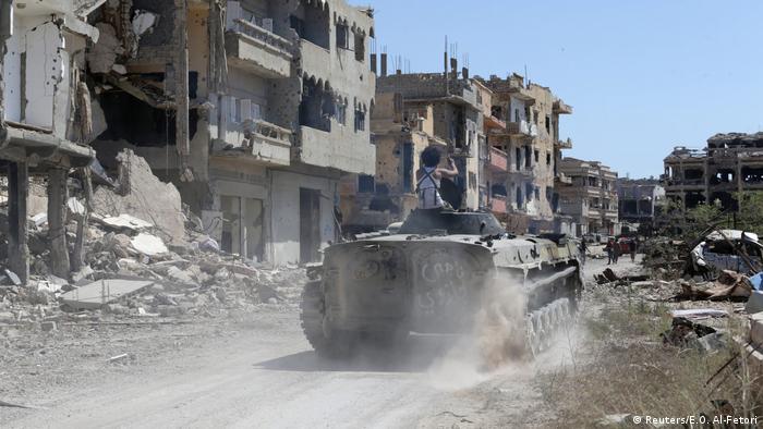 Libyen Kampf um Bengasi (Reuters/E.O. Al-Fetori)