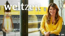 Banner Weltzeit Newsletter DW Faces