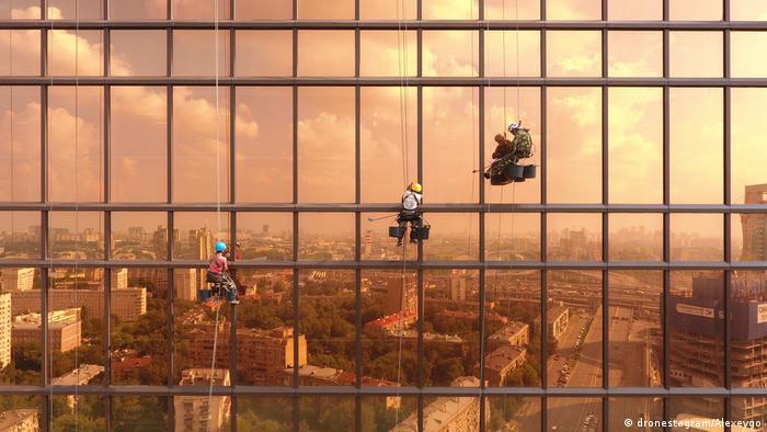 Этот снимок сделан с беспилотника московским физиком Алексеем Гончаровым