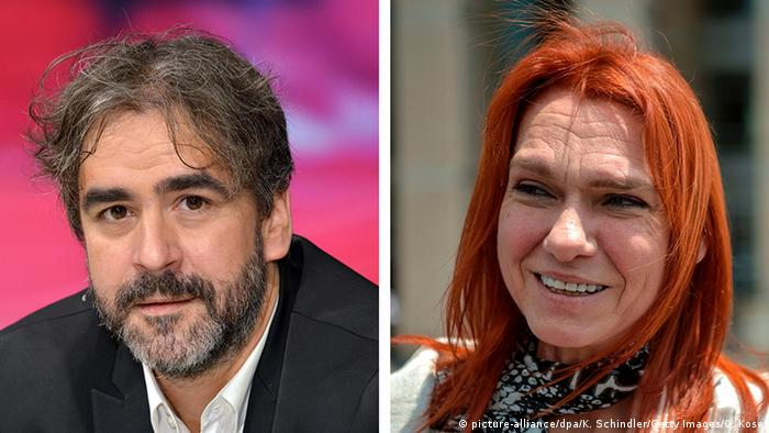 Deniz Yücel und Asli Erdogan (picture-alliance/dpa/K. Schindler/Getty Images/O. Kose)
