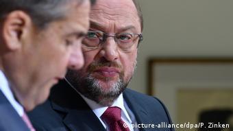 Διαφορές ανάμεσα σε Γκάμπριελ και Σουλτς για τη συνέχιση του μεγάλου συνασπισμού