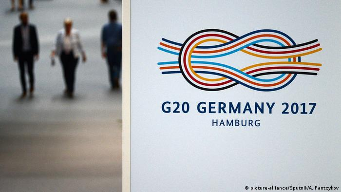 G20 Gipfel in Hamburg | Logo (picture-alliance/Sputnik/A. Pantcykov)