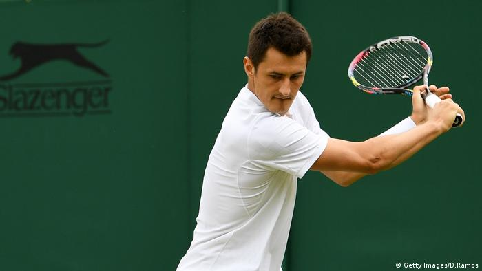 Tennis Tomic And Medvedev Handed Wimbledon Fines Sports German