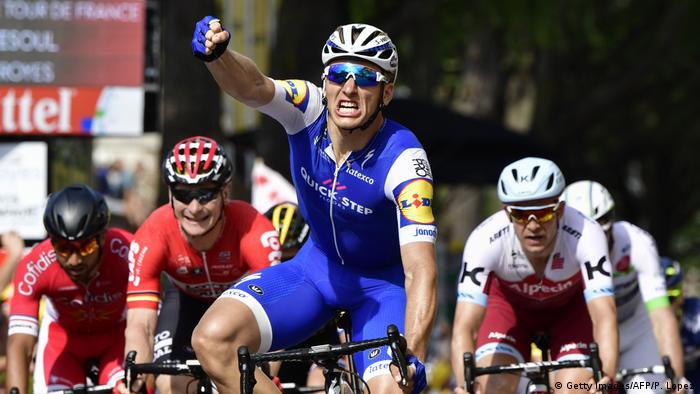 Tour de France 6. Etappe Marcel Kittel Sieger (Getty Images/AFP/P. Lopez)