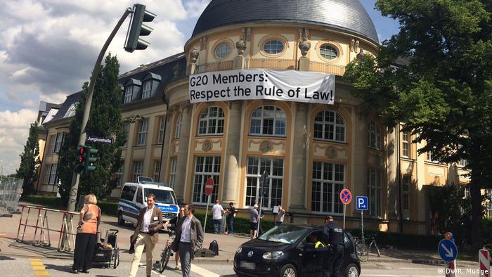 G20 Gipfel in Hamburg   Impressionen