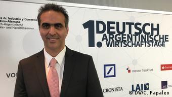 Frankfurt am Main Deutsch-Argentinische Wirtschaftstage | Pablo Di Si (DW/C. Papaleo)
