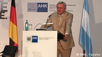 Frankfurt am Main Deutsch-Argentinische Wirtschaftstage | Reinhold Festge (DW/C. Papaleo)