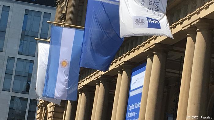 Frankfurt am Main Deutsch-Argentinische Wirtschaftstage | Börse (DW/C. Papaleo)