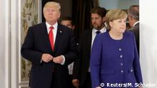 G20 Gipfel in Hamburg | Donald Trump & Angela Merkel