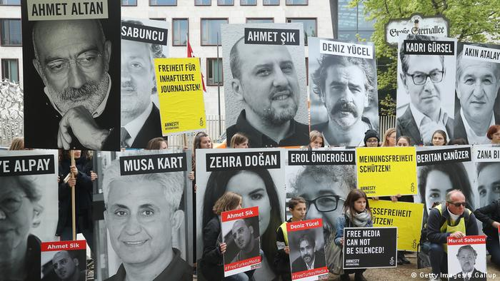 Amnesty International gegen Türkei (Getty Images/S.Gallup)