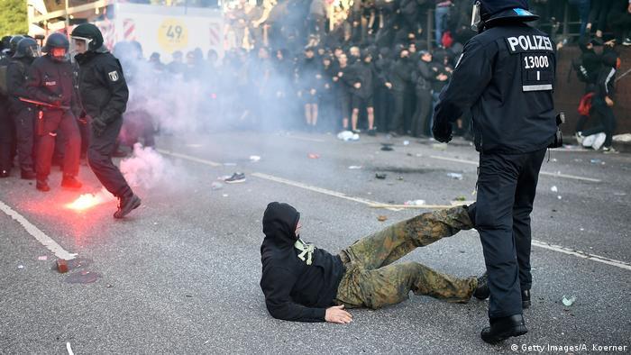 Беспорядки в Гамбурге