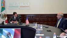 Mexiko | Mexikos Präsident Enrique Pena Nieto trifft U.S. Heimatschutzminister John Kelly