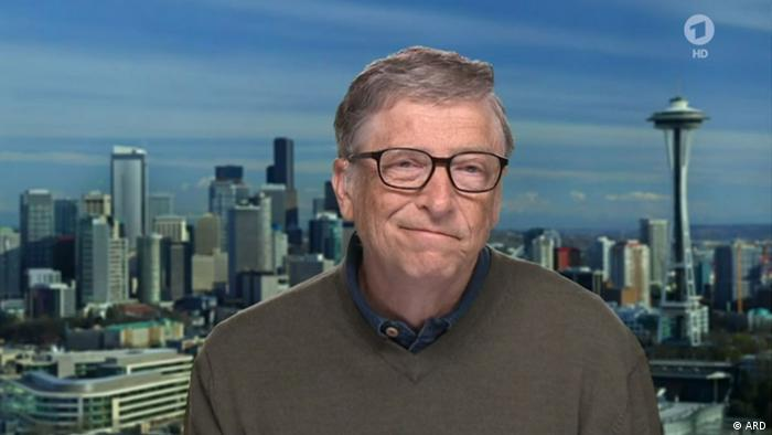 Screenhot Tagesthemen | Bill Gates im Interview (ARD)