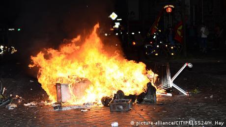 Deutschland | G20 Welcome to Hell (picture-alliance/CITYPRESS24/H. Hay)