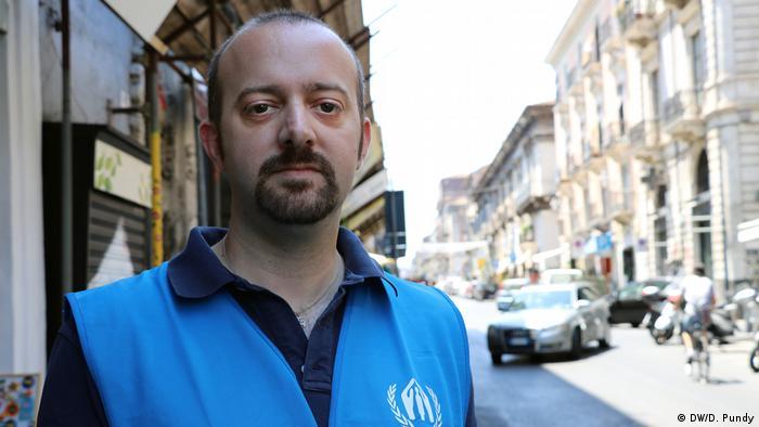 Italien Sizilien Flüchtlingskrise