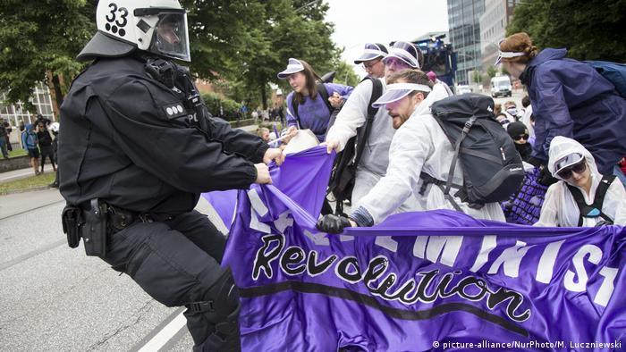 G20 Hamburg Proteste