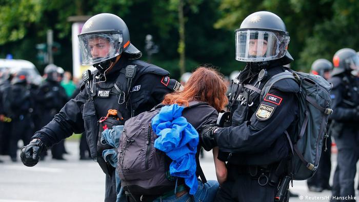 Deutschland G20 Proteste in Hamburg (Reuters/H. Hanschke)