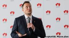 Australien Tesla Elon Musk