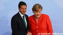 Deutschland G20 Begrüßung der Teilnehmer durch Merkel