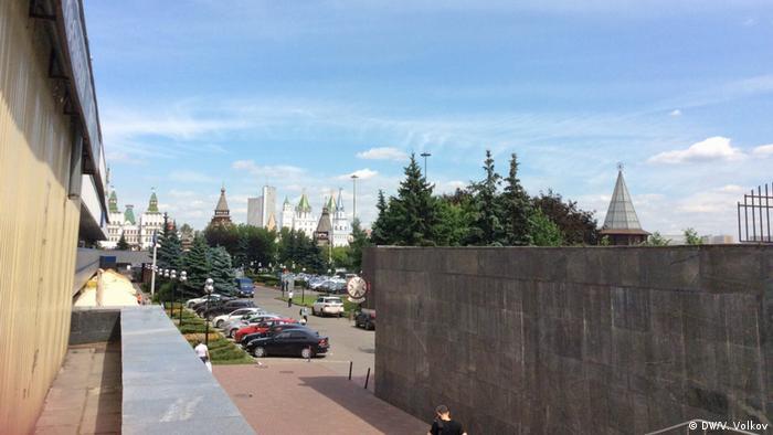 Москва. Вид от гостиничного комплекса Измайлово
