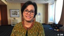 Hamburg Finanzministerin Sri Mulyani Indrawati Indonesien