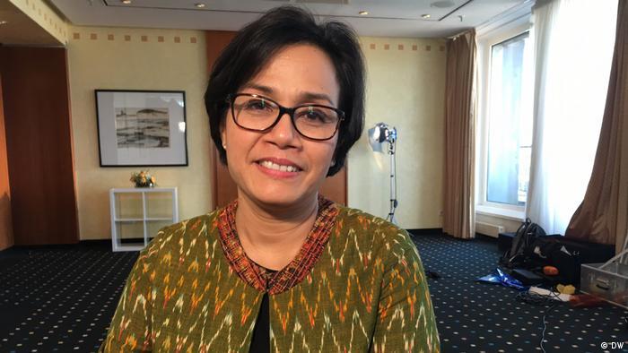Hamburg Finanzministerin Sri Mulyani Indrawati Indonesien (DW)