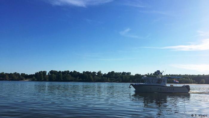 Freie Republik Liberland Polizeiboot (S. Kljajić)