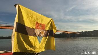 Freie Republik Liberland Flagge (S. Kljaji)