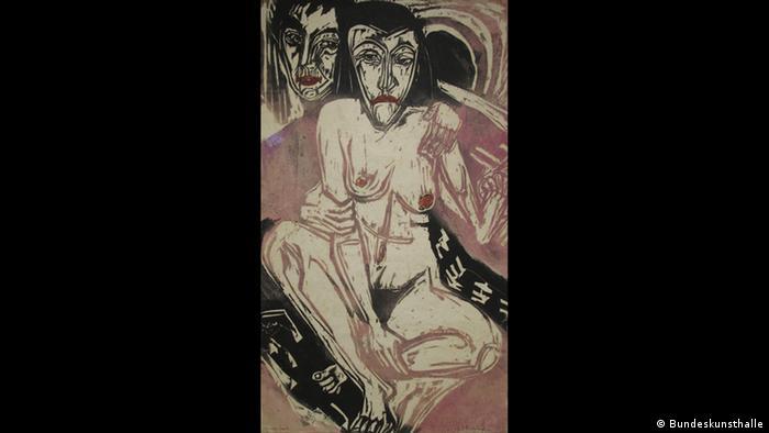 Ernst Ludwig Kirchner, Melancholisches Mädchen (Foto: Bundeskunsthalle)