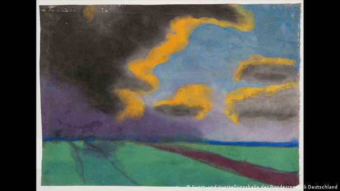 Emil Noldes, Weite Landschaft mit Wolken (Foto: Kunst- und Ausstellungshalle der Bundesrepublik Deutschland)