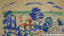 Gurlitt-Konvoluts im Kunstmuseum Bern August Macke Ausschnitt