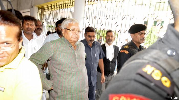 Indien Politiker Lalu Prasad Yadav (UNI)