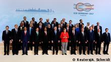 Deutschland G20 Gipfel Familienfoto