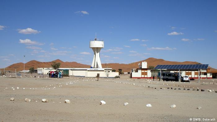 Namibia Namib-Wüste Gobabeb Training and Research Centre l