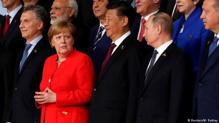 G20 Gipfel in Hamburg | Macri, Merkel, Jinping, Putin, Erdogan