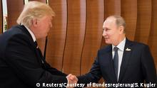 G20 Gipfel in Hamburg | Trump & Putin