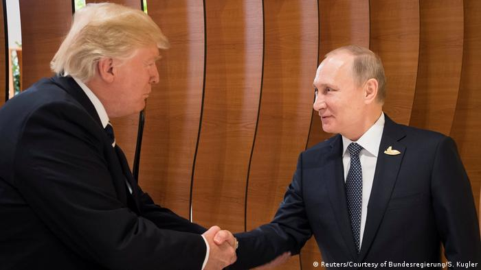 G20 Gipfel in Hamburg | Trump & Putin